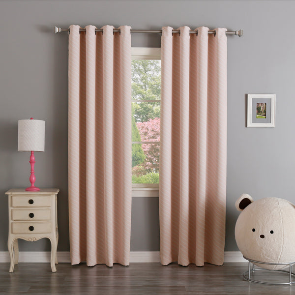 Diagonal Stripe Curtains