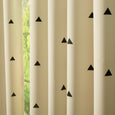 Small Triangle Room Darkening Curtains
