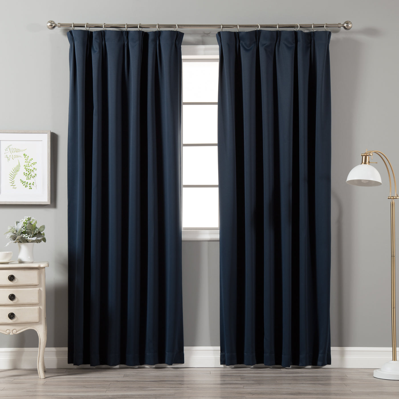 Pinch Pleat Blackout Curtains