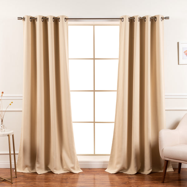 Flame Retardant Basic Blackout Curtain