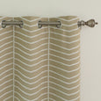 Sketched Chevron Room Darkening Curtains