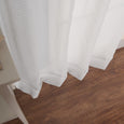 Sheer Thin Stripe Grommet Curtains