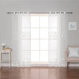 Sheer Tulip Grommet Curtains