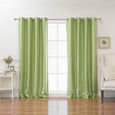 Faux Silk Grommet Blackout Curtains