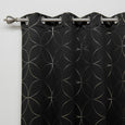 Circle Foil Blackout Curtains