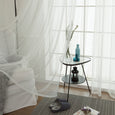 Gathered Tulle Curtains