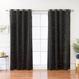 Star Grommet Blackout Curtains