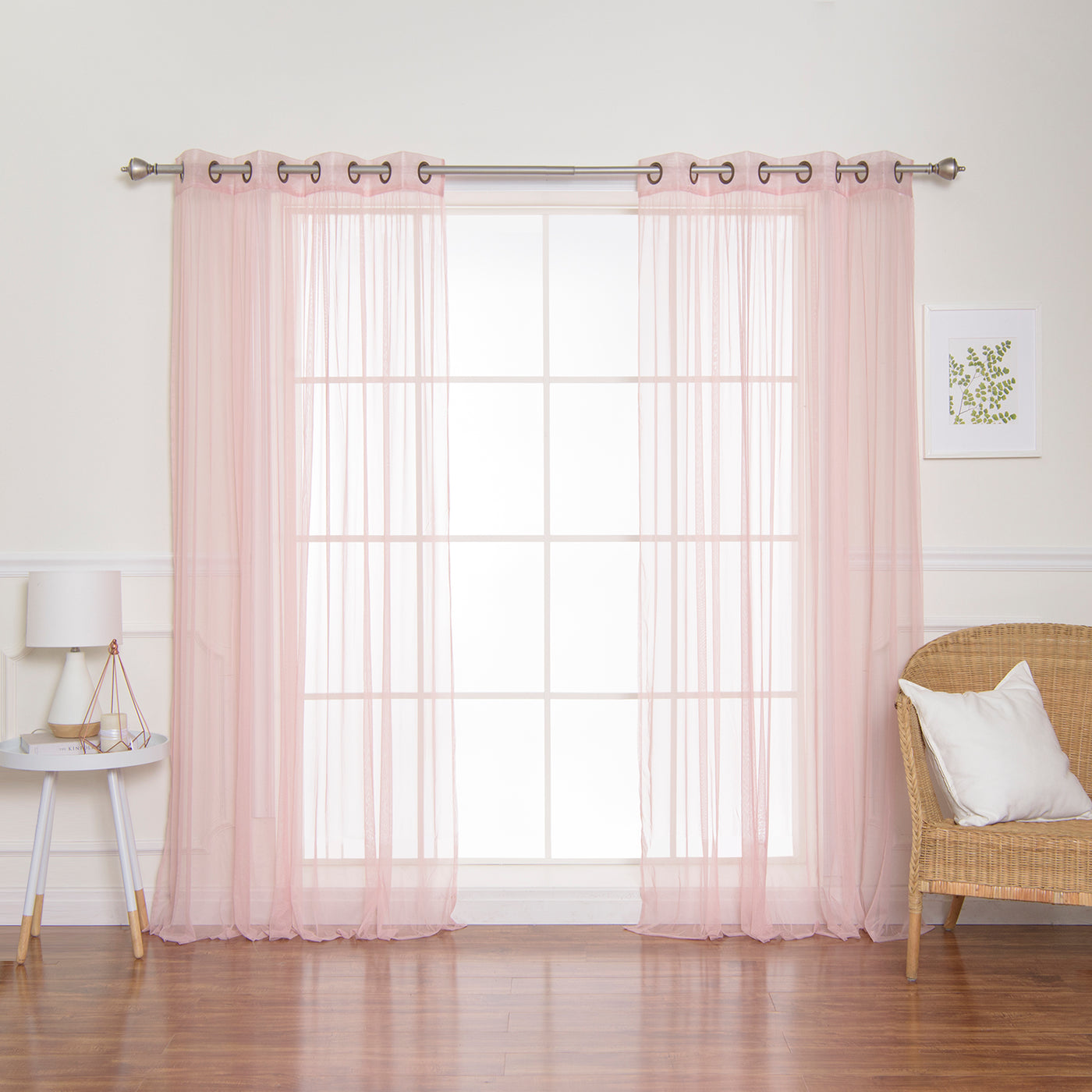 Colored Tulle Curtains