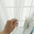 Tulle Lace Wide Curtain