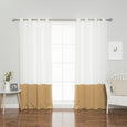 Oxford Colorblock Curtains