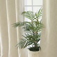 Linen Blend Blackout Curtains - Natural