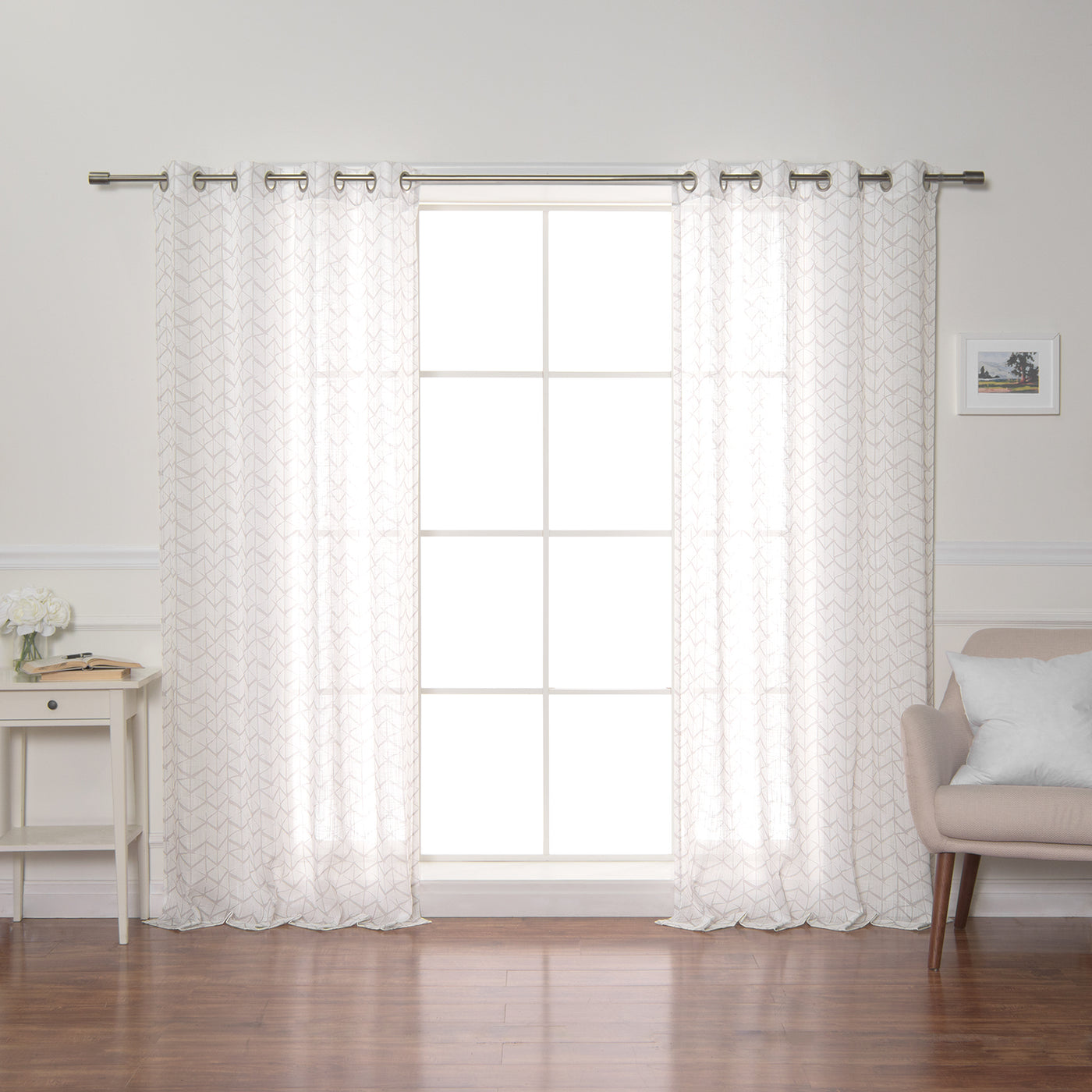 Opaque Cube Curtains