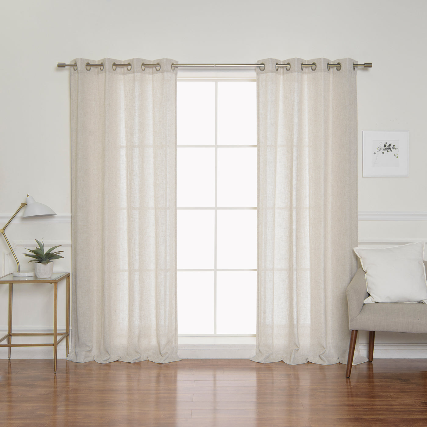 Linen Blend Curtains