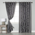 Damask Jacquard Wide Curtain