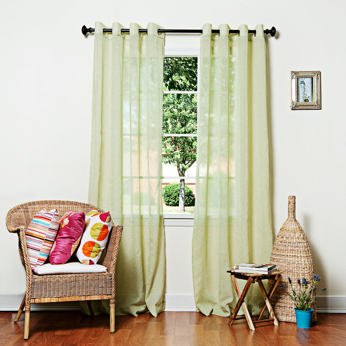 Crushed Voile Curtains