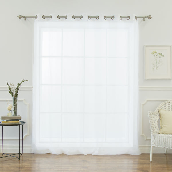 Crushed Voile Wide Curtain