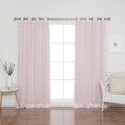 uMIXm Sheer Dot & Blackout Curtains