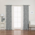 uMIXm Tulle & Maritime Room Darkening Curtains