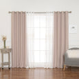 uMIXm Pearl & Cotton Slub Blackout Curtains