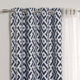 uMIXm Tulle & Geo Lattice Blackout Curtains