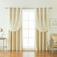 uMIXm Sheer Agatha & Blackout Curtains
