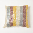 Striped Mother of Pearl Pillow
