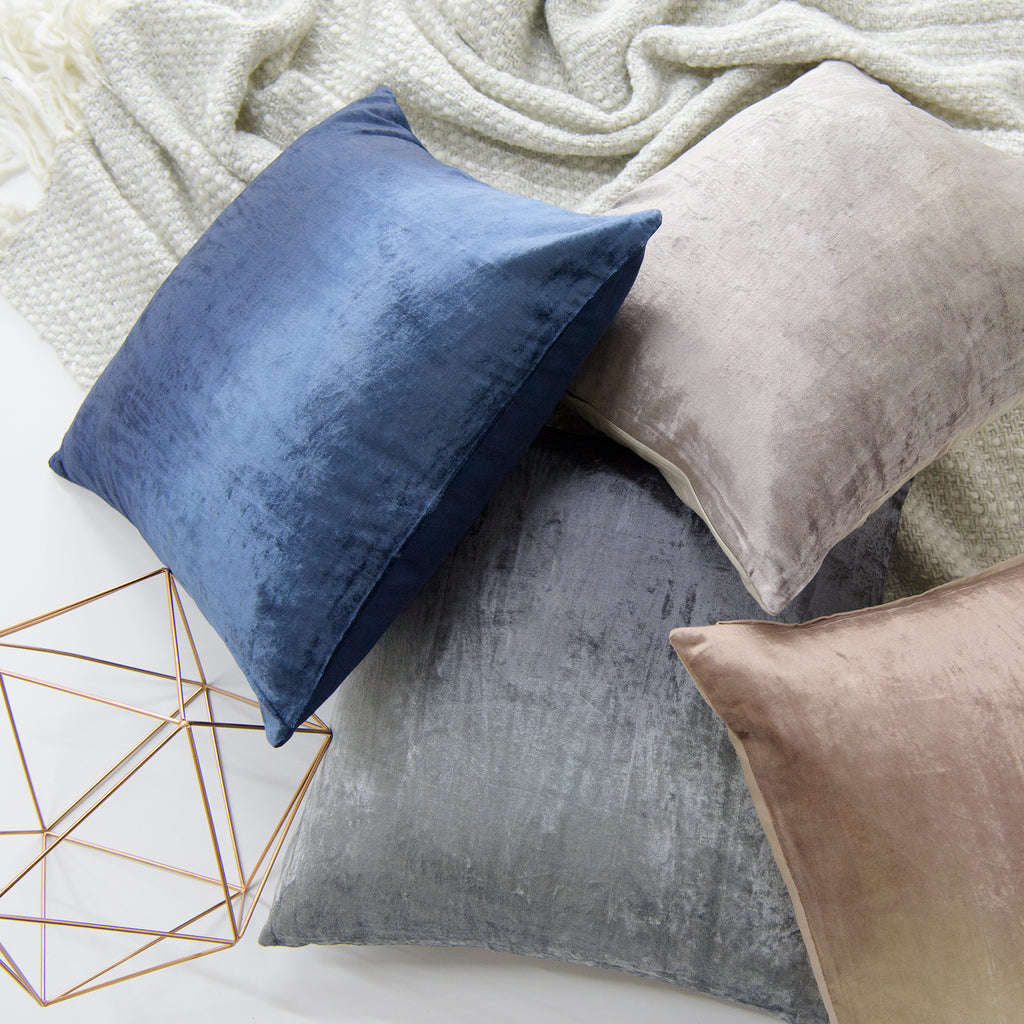 Ombre Velvet Pillow