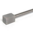 Cuboid Single Curtain Rod