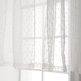 Sheer Dot Valance
