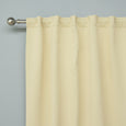 "Back Tab Blackout Curtains - 40""W"
