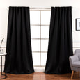 Back Tab Blackout Curtains