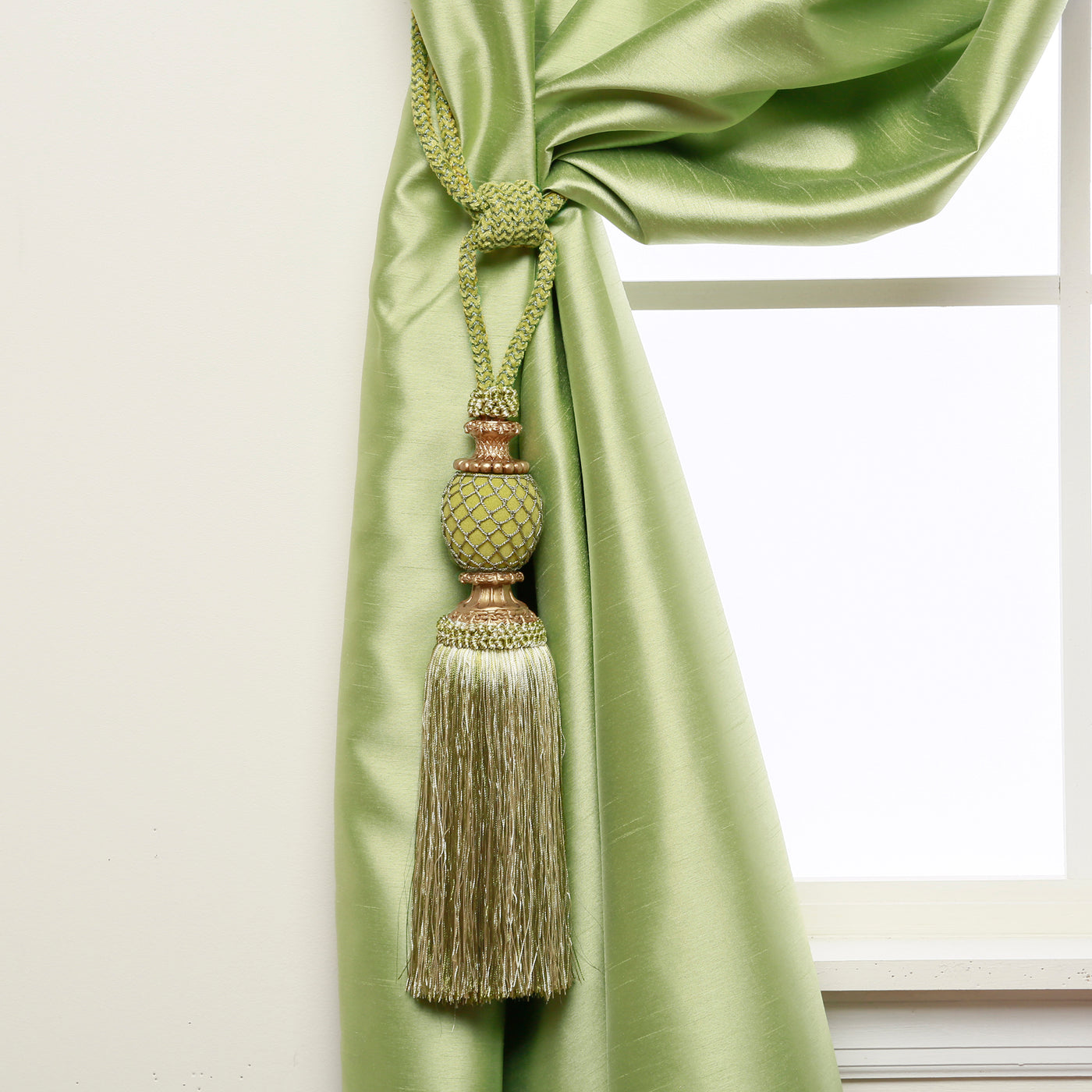 Bella Tassel Curtain Tie Backs