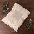 Plush Touch Fringe Throw