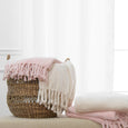 Twisted Fringe Throw