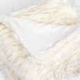 Faux Fur Throw - Iced Fox