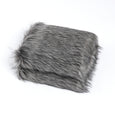 Faux Fur Throw - Silver Fox