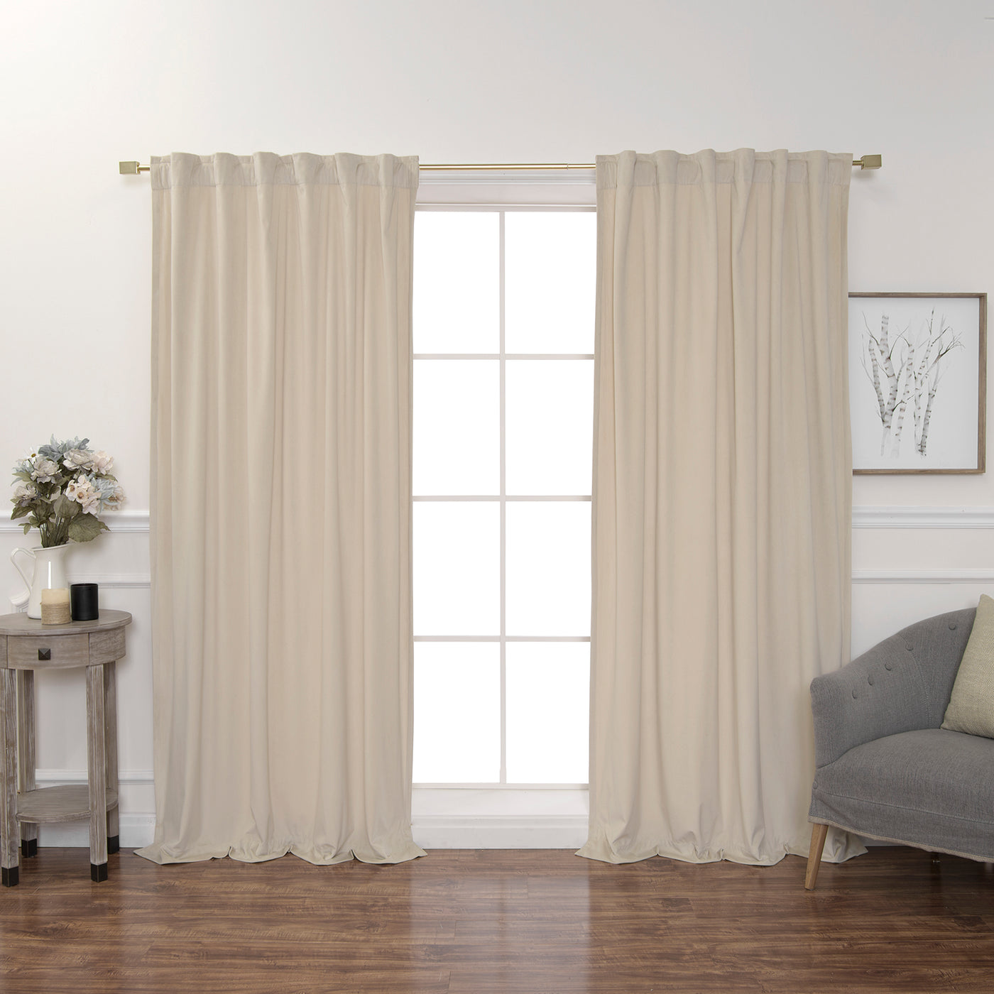 Luster Velvet Curtains