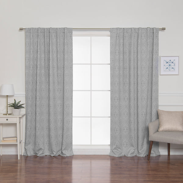 Diamond Confetti Blackout Curtains
