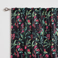 Floral Blackout Curtains