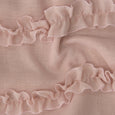 Romantic Ruffle Tie Top Curtains