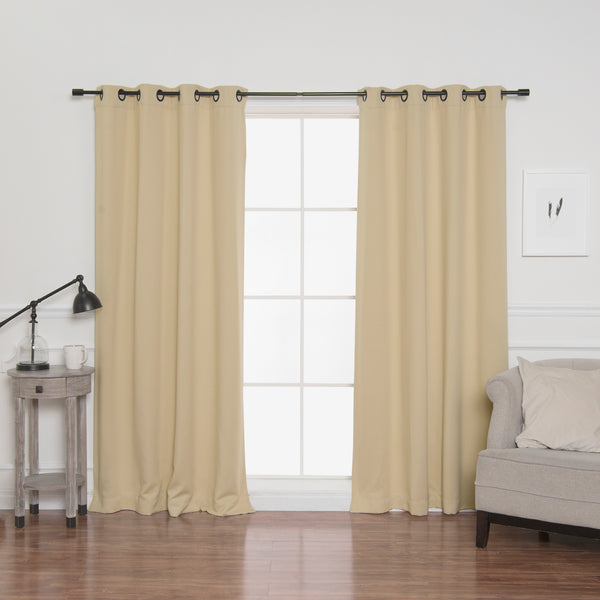 Onyx Grommet Blackout Curtains