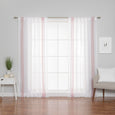 Linen Blend Stripe Curtains