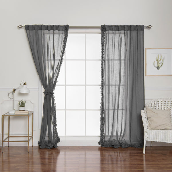 Small Ruffle Curtains