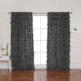 Ruffle Cascade Curtains