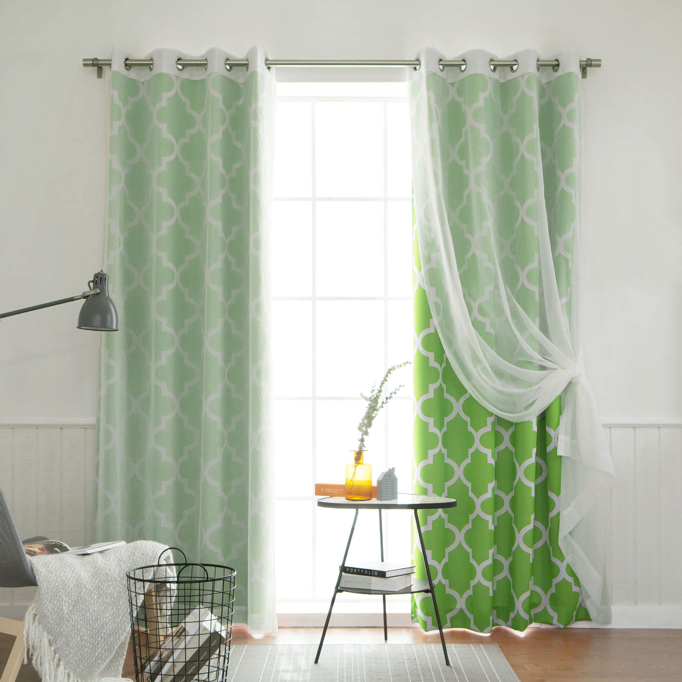 uMIXm Faux Linen & Moroccan Curtains