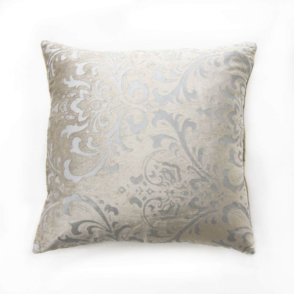 Damask Velvet Pillow