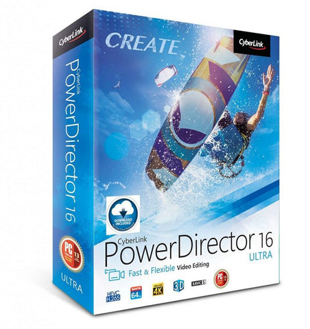 CyberLink PowerDirector 16 Advanced Editing Video For PC