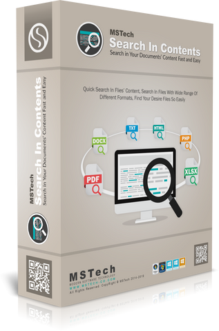MSTech Search in Contents For PC