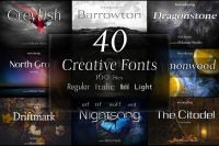 40 Creative Fonts For PC
