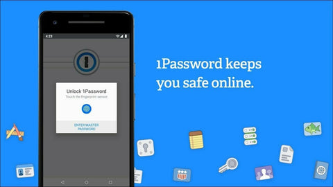 1Password Password Manager Pre Activated